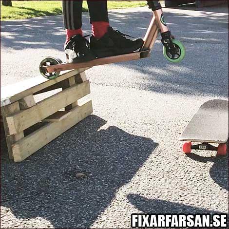 Bygga-Kickbike-Ramp