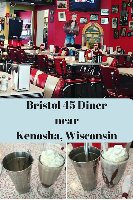Nostalgic Family Dining at Bristol 45 Diner near  Kenosha, Wisconsin