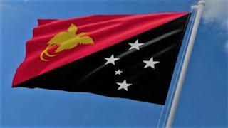 bendera papua nugini