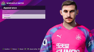 PES 2020 Faces Martin Dubravka by Rachmad ABs