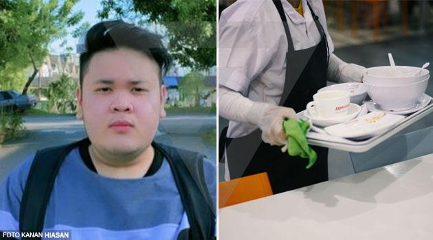'Mak suruh bayarkan sekali makanan 2 cleaner tu, malam tu aku dapat job RM2,000'