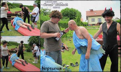 Chrzest Wodniacki. Neptunus.