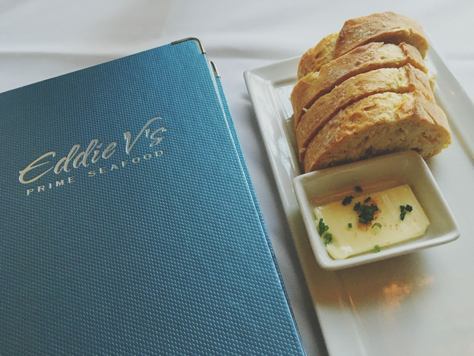 bread at Eddie V's - A restaurant in Houston, Texas