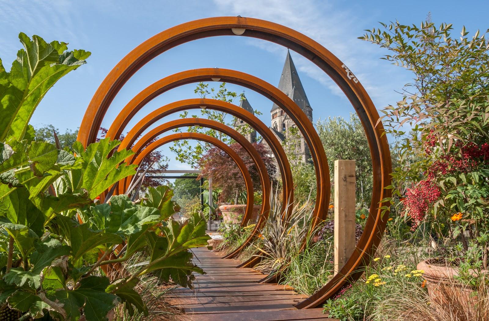 Une promenade à Metz, côté jardin