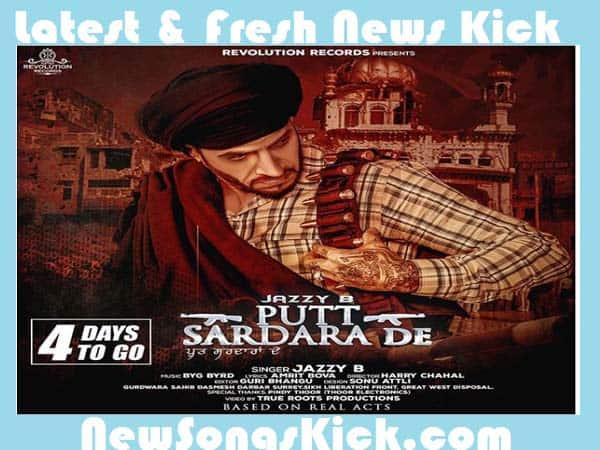 Putt Sardara De New Mp3 Song By Jazzy B