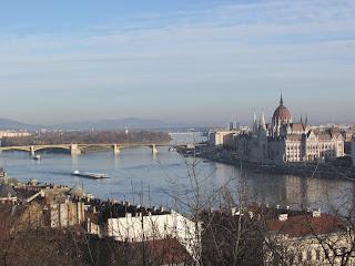 Vistas del Danubio desde Buda 2