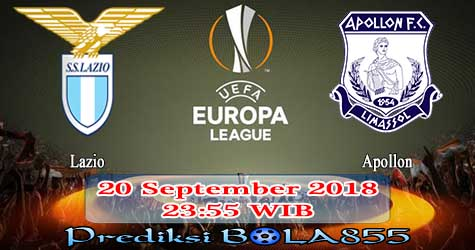 Prediksi Bola855 Lazio vs Apollon 20 September 2018