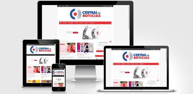 Central de Noticias Blogger Template
