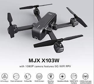 Review Drone MJX X103w