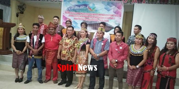 GENPPARI Terus Berkembang, DPD Kabupaten Sintang Dilantik dan Dikukuhkan