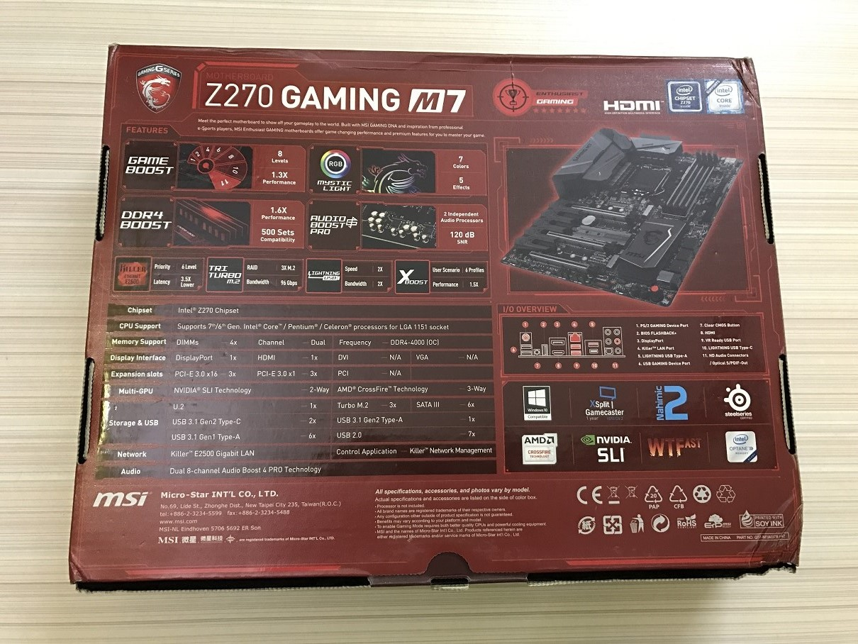 MSI Z270 Gaming M7 Review ~ Computers and More | Reviews
