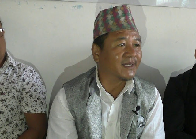 Trinamool (Hills) Darjeeling subdivision observer Rajen Mukhia