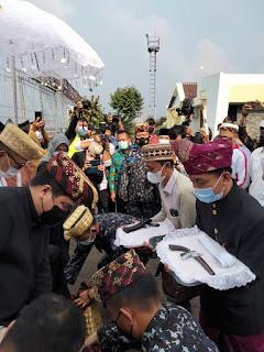 Sambut Erick Thohir dan Zulhas, AMPL Suguhkan Budaya Lampung