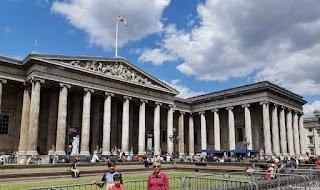 British Museum o Museo Británico de Londres.
