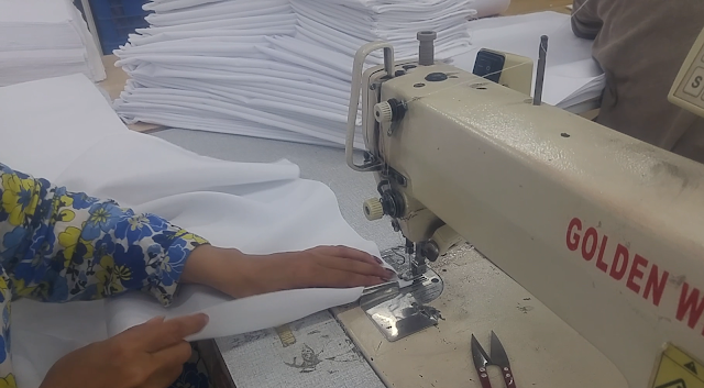 cloth napkin making