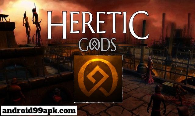 لعبة HERETIC GODS v1.10.11 مهكرة بحجم 61 MB للأندرويد