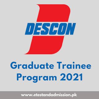Descon Graduate Trainee Program 2021
