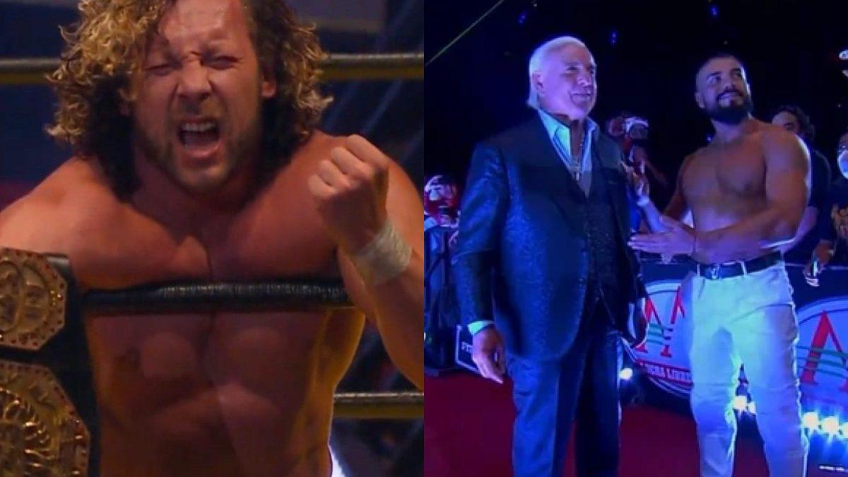 Kenny Omega se ofereceu para ser derrotado por Andrade após saber que Ric Flair estaria na AAA TripleManía