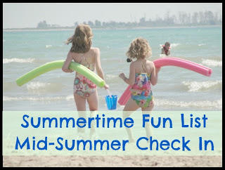 summertime fun list check in
