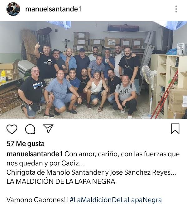 La Chirigota de Manolo Santander en 2018 'Los Brujos Titi'  será para el COAC 2019 'La Maldición de la Lapa Negra'
