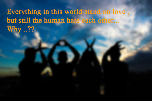 world stand on love