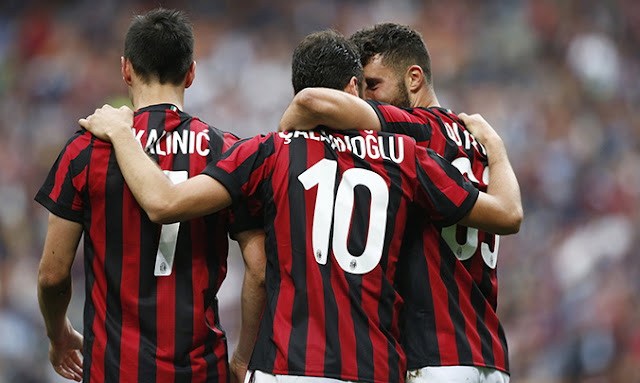 Video Cuplikan Gol AC Milan 5-1 Fiorentina