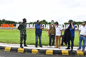 FIM Tinjau Bandara Internasional Lombok Dukung MotoGP di Mandalika