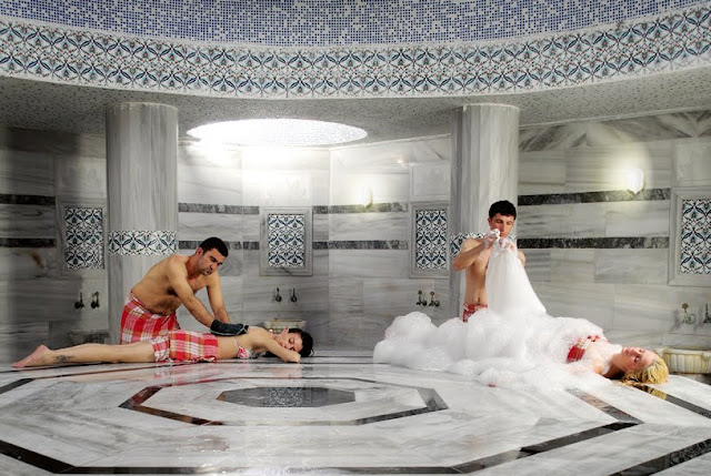 Banho Turco em Istambul