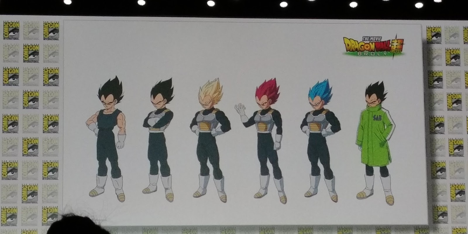 Diseño personaje Vegeta 2019 - Dragon Ball Super OVA