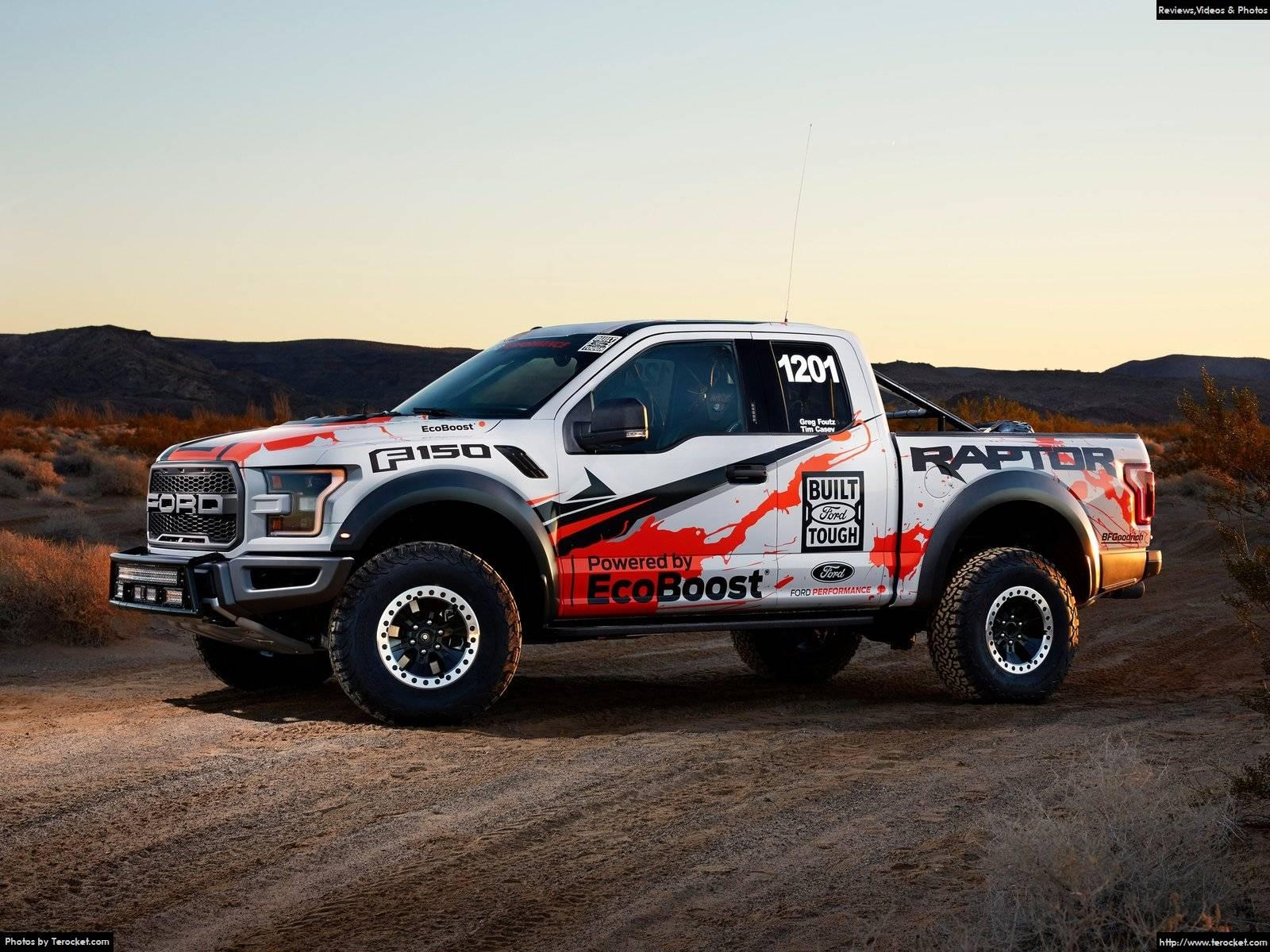 Hình ảnh xe ô tô Ford F-150 Raptor Race Truck 2017 & nội ngoại thất
