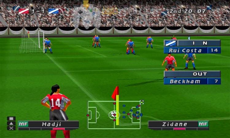 تحميل لعبة اليابانية Winning Eleven 4 مضغوطة من مييديا فاير