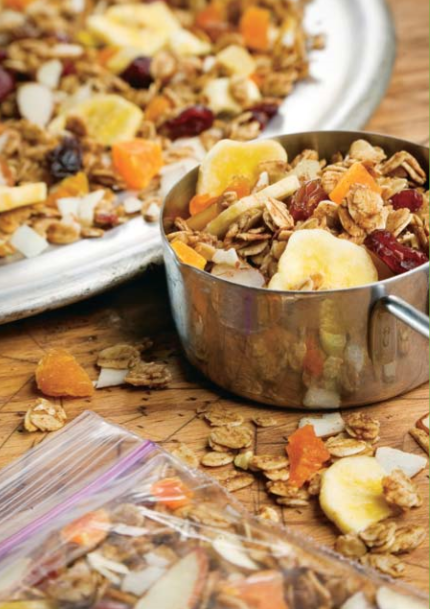 Tropical Fruit and Nut Snack Mix Recipe