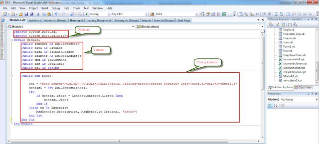 koneksi vb. net ke database sql server