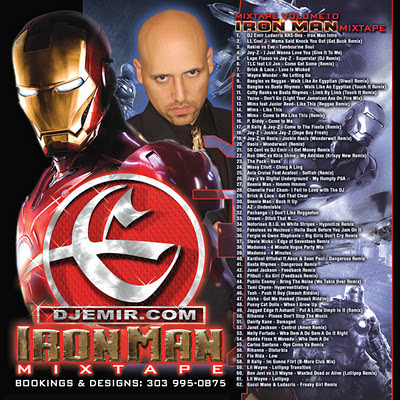 DJ Emir Iron Man Mixtape Cover