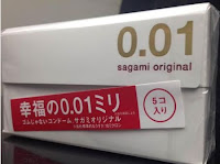 Kondom Sagami Original 001 0.01mm isi 5 pcs