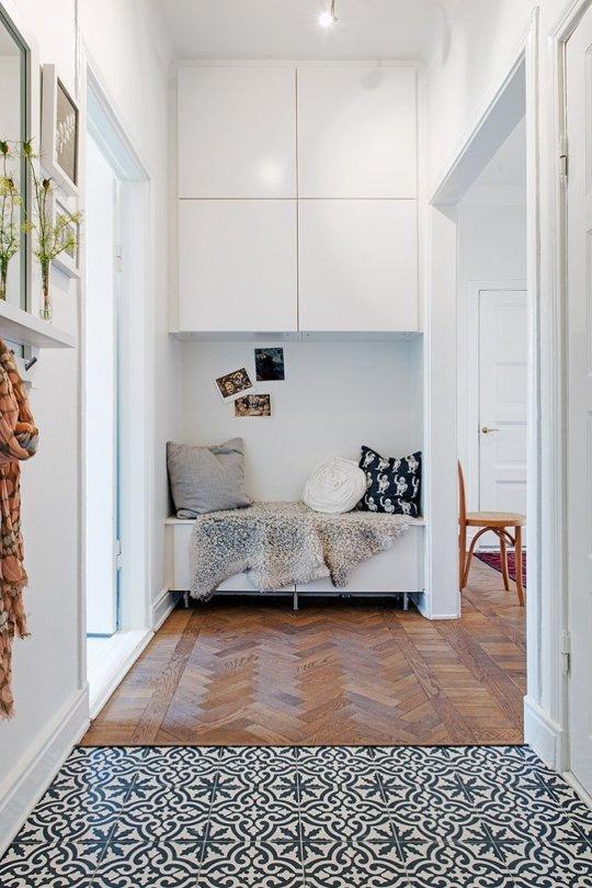 El blog de demarques ideas para aprovechar pasillos estrechos - Como pintar el pasillo ...