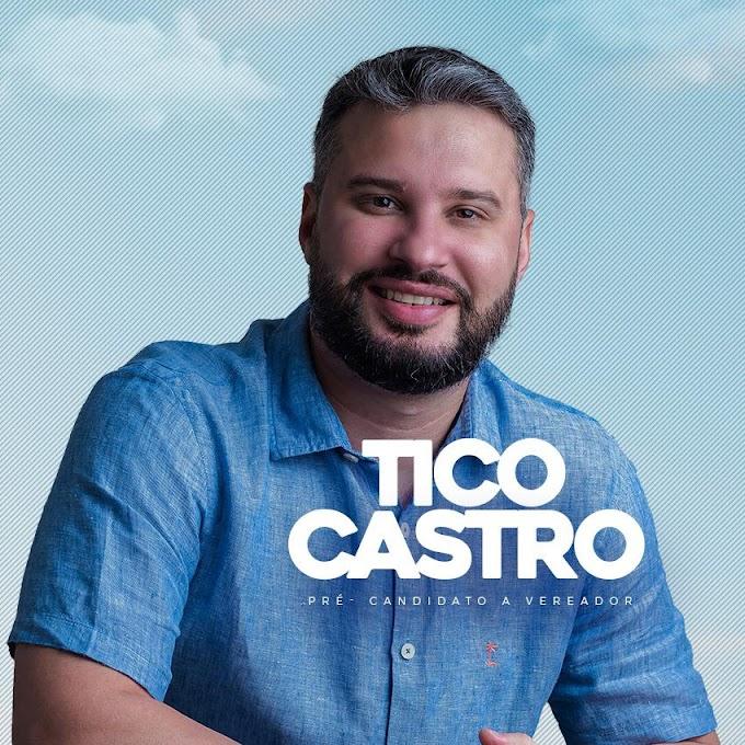 Tico Castro lança sua pré-candidatura a vereador em Caxias