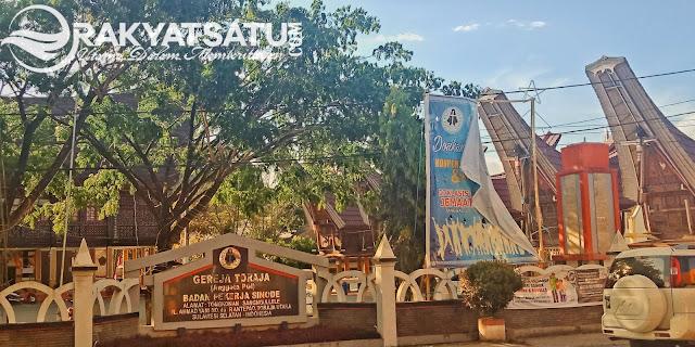BPS Gereja Toraja Galang Donasi Logistik untuk Korban Gempa, Disini Poskonya