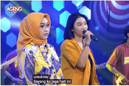 Lirik Lagu Cinta Untukmu Sayang Duo Ageng (Indri - Sefti) Ageng Musik