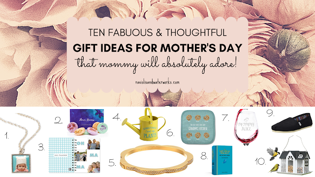 thoughtful and inexpensive presents to give mom mommy