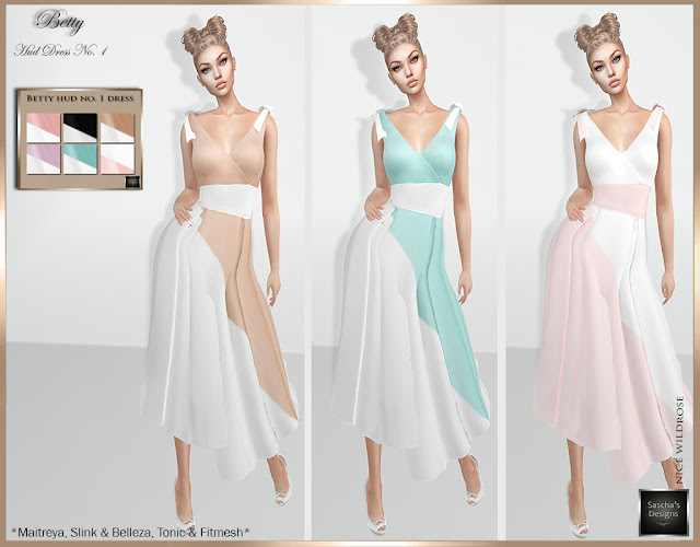 SASCHA'S DESIGNS - Betty HUD Dresses
