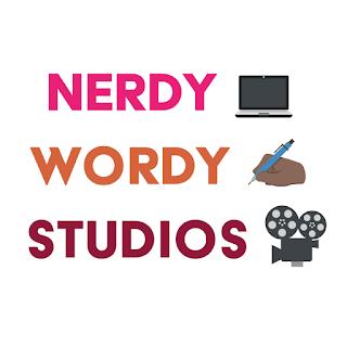 Nerdy Wordy Studio Logo