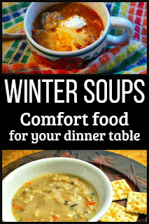 12 delicious soup recipes to keep your belly warm this winter! From a variation on chicken noodle to more unusual soups such as carrot-ginger and albondigas, you're sure to find a new family favorite. #soup