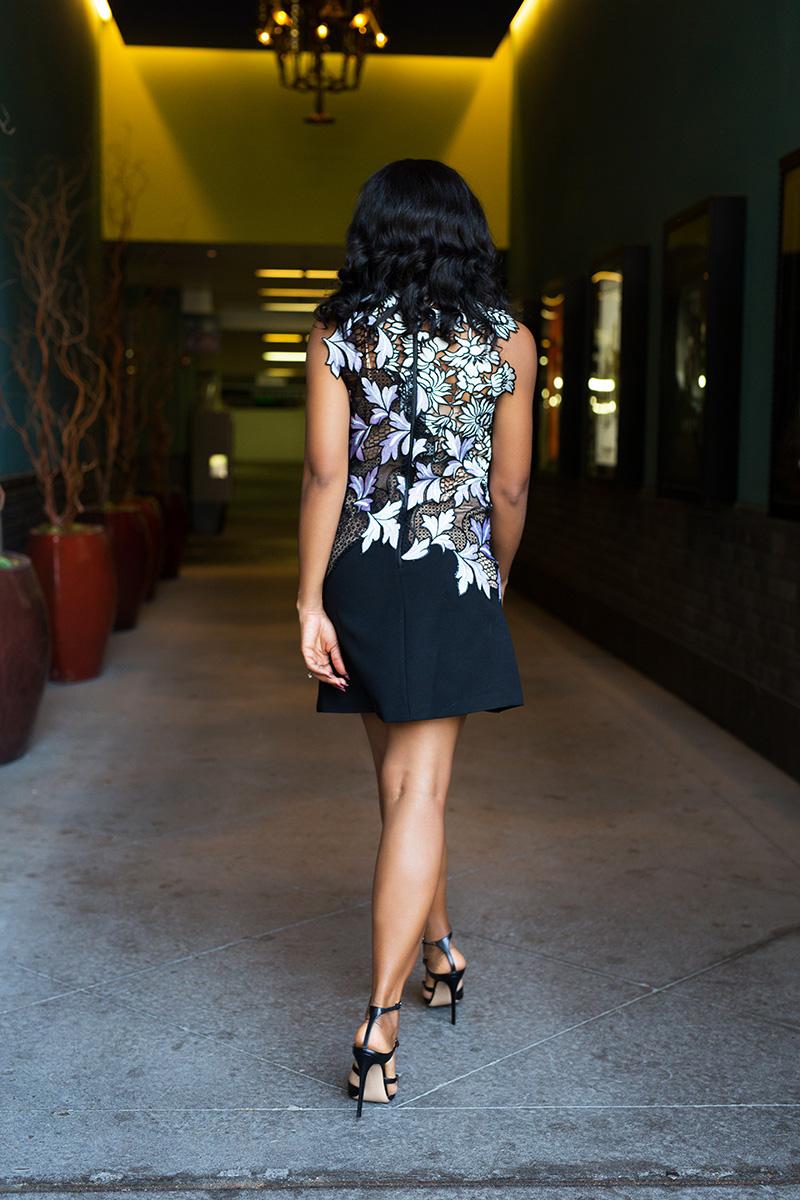 self portrait lace mini dress, www.jadore-fashion.com