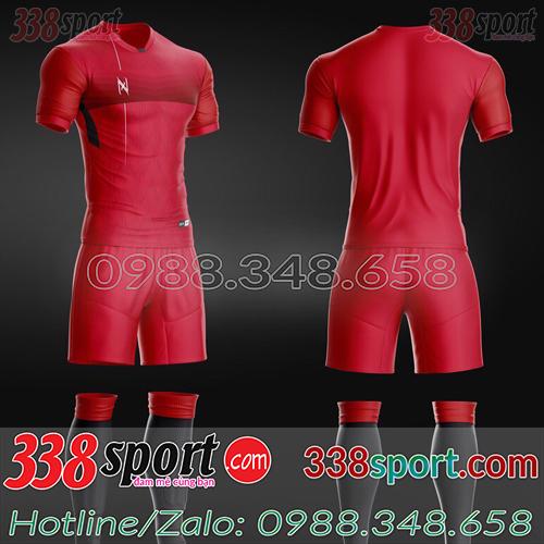 Áo Bóng Đá Không Logo Hot Zavikia ZaRa STA03 Đỏ