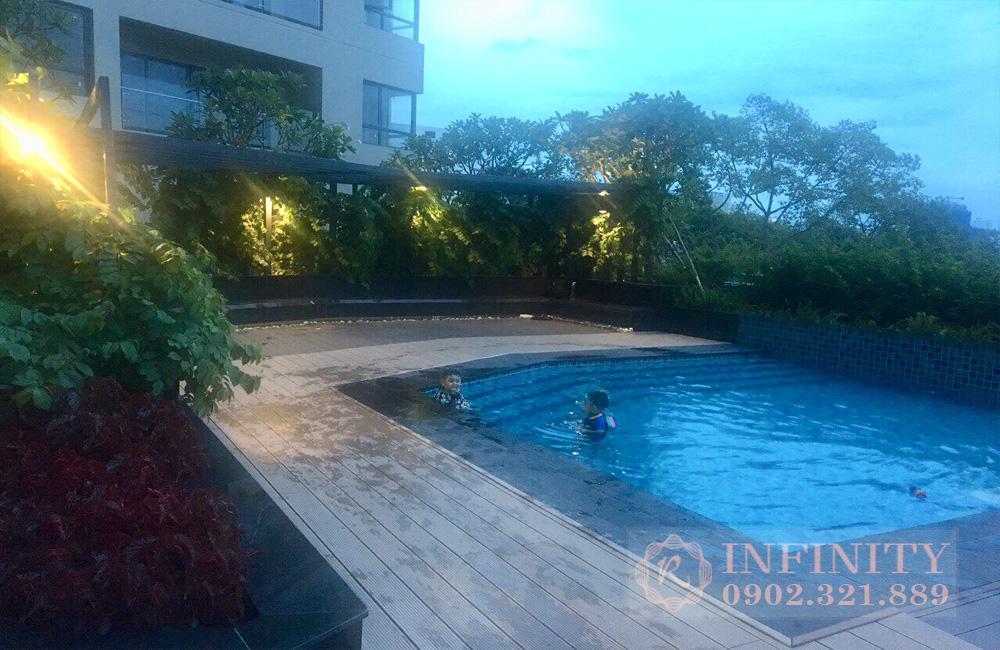 Cho thuê căn hộ Everrich Quận 5 - hồ bơi