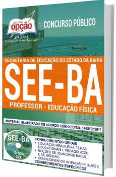 Apostila SEE-BA 2018 Professor de Educação Física