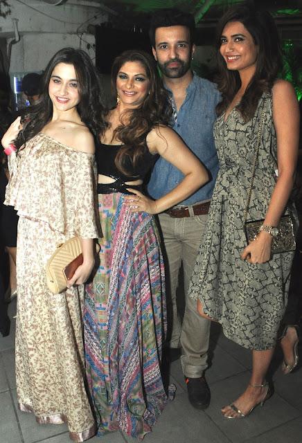7. Sanjeeda Sheikh,Sohanna Sinha, Aamir Ali, Karishma Tanna