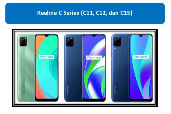 Realme C Series (C11, C12, dan C15)