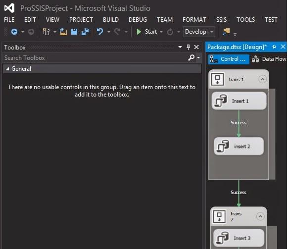 Visual Studio 2017 Toolbox Not Showing Controls
